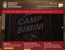 Tablet Preview of campbimini.ca